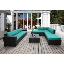 Scholtz 8 Piece Deep Seating Group with Cushion