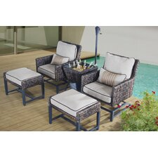 Falmouth 5 Piece Deep Seating Group with Cushion