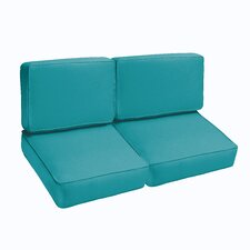 Outdoor Loveseat Cushion Set (Set of 4)