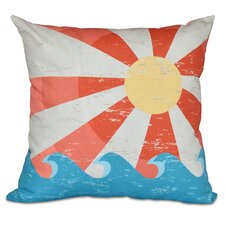 Pembrook Sunbeams Geometric Outdoor Throw Pillow