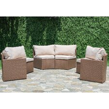 Sturbridge 6 Piece Deep Seating Group with Cushion