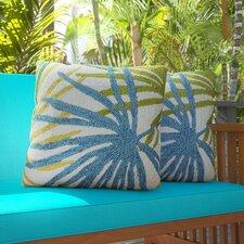 Bali Indoor/Outdoor Synthetic Throw Pillow (Set of 2)