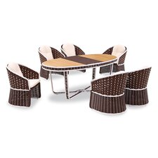 Today Only Sale Polis 7 Piece Dining Set