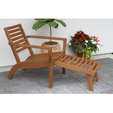 Stratford Danish Lounger Chair (Set of 2)
