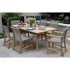 Purchase Pelican Nautical Teak 7 Piece Dining Set