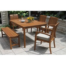 Southington 6 Piece Dining Set with Cushions