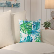 Schyler Jungle Print Outdoor Throw Pillow