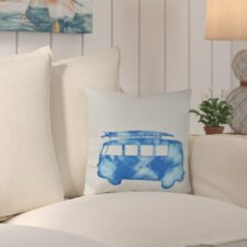 Beach Drive Geometric Outdoor Throw Pillow