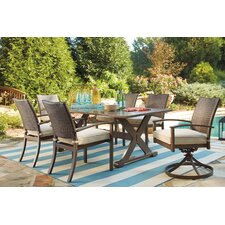 Girne 7 Piece Dining Table Set