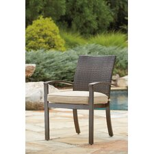 Girne Stacking Dining Arm Chair (Set of 4)