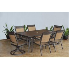 Colville 7 Piece Rectangular Dining Set