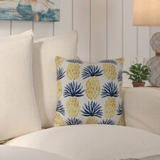Costigan Pineapple Stripes Outdoor Throw Pillow