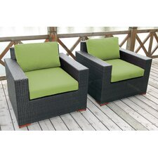 Scholtz Club Chair with Cushions