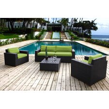 Sale Scholtz 5 Piece Deep Seating Group with Cushions