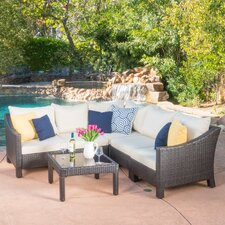 Skylloura 6 Piece Sectional Seating Group with Cushions