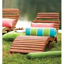Philodendron Wood Outdoor Chaise Lounge