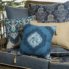 Today Sale Only Anatolia Blue Kenya Outdoor Lumbar Pillow (Set of 2)