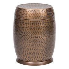 Today Sale Only Madras Drum End Table