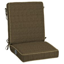 Rhodes Texture Adjustable Comfort Outdoor Lounge Chair Cushion