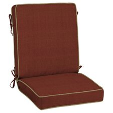 Pompas Pomegranate Snap Dry? Outdoor Lounge Chair Cushion