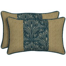 Royal Zanzibar Outdoor Lumbar Pillow (Set of 2)