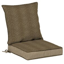 Zebra Outdoor Dining Seat Cushion