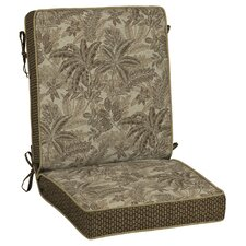 Palmetto Snap Dry? Outdoor Lounge Chair Cushion
