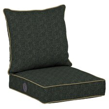 Tangier Stitch Adjustable Comfort Outdoor Deep Seat Cushion