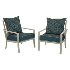 Valencia Royal Zanzibar Bombay Outdoors Snap Dry Chair (Set of 2)