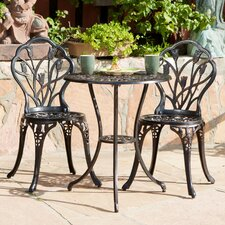 Barr Al Jissah 3 Piece Dining Set