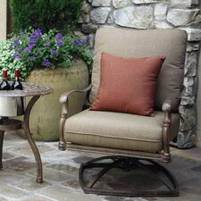 Biarritz Swivel Chair with Cushions