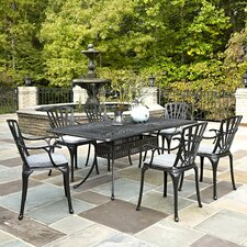 #1 Frontenac 7 Piece Dining Set with Cushions