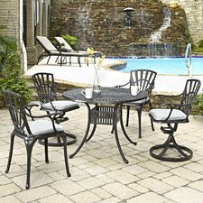 Frontenac 5 Piece Dining Set with Cushions