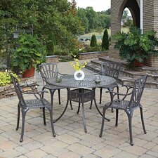 Read Reviews Frontenac 7 Piece Dining Set with Cushions 5 Piece Dining Set