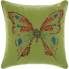 Bangor Butterfly Indoor/Outdoor Throw Pillow
