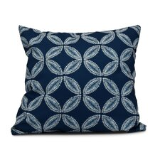 Rafia Tidepool Indoor/Outdoor Throw Pillow