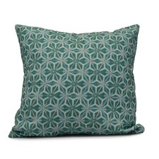 Rafia Water Mosaic Indoor/Outdoor Throw Pillow