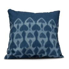 Rafia Watermark Indoor/Outdoor Throw Pillow