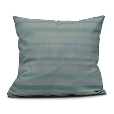 Rafia Raya De Agua Indoor/Outdoor Throw Pillow