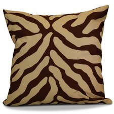 Echo Animal Striped Geometric Outdoor Throw Pillow