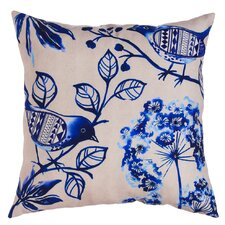 Jaydon Patterned Bird Indoor/Outdoor Throw Pillow