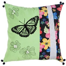 Chandler  in Flight Indoor/Outdoor Throw Pillow