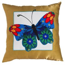 Chandler Jeweled Garden Indoor/Outdoor Throw Pillow
