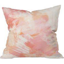 Lovely Blake Watercolor Outdoor Throw Pillow