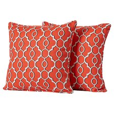 Lalla Corded Indoor Outdoor Throw Pillow (Set of 2)