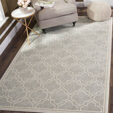 Currey Light Gray/Ivory Outdoor Area Rug