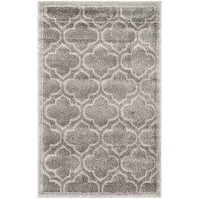 Currey Grey/Light Grey Outdoor Area Rug