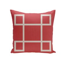 Diamondine Geometric Decorative Outdoor Pillow