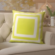 Horovitz Geometric Outdoor Throw Pillow