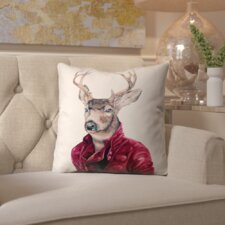 Spacial Price Whitchurch Animal Crew Deer Indoor/Outdoor Throw Pillow